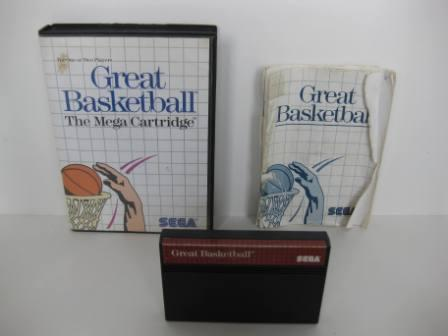 Great Basketball (CIB) - Sega Master System Game